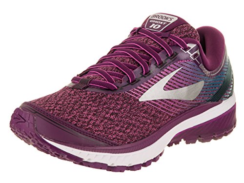 Brooks Womens Ghost 10 Neutral High Cushion Running Shoe