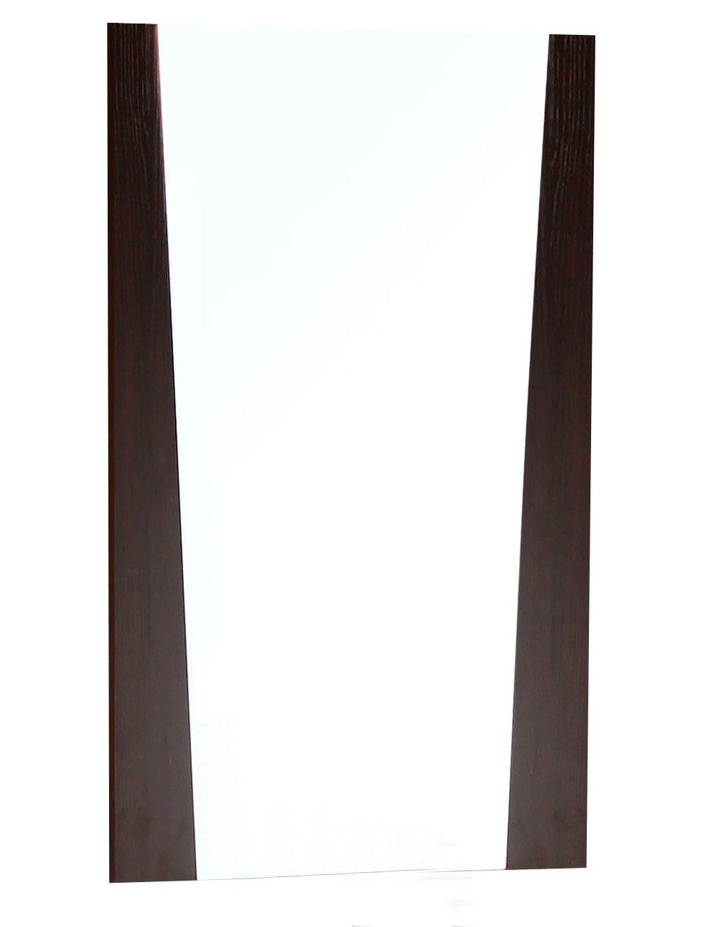 American Imaginations AI-3-1208 Modern Plywood-Melamine Wood Mirror, 24-Inch x 34-Inch, Wenge Finish