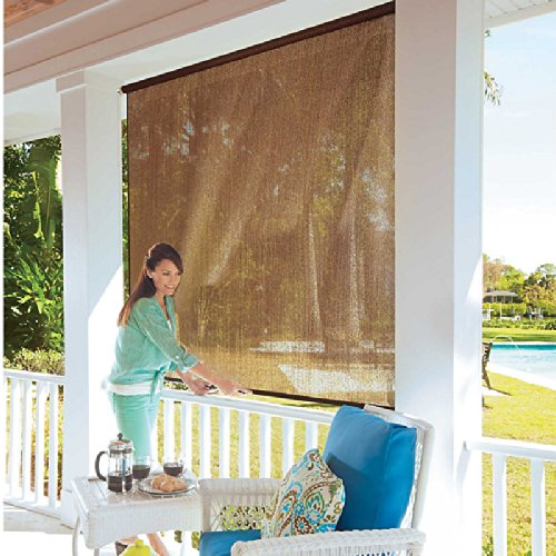 Roll-Up Solar Shade-4'W x 6'L - Monterey