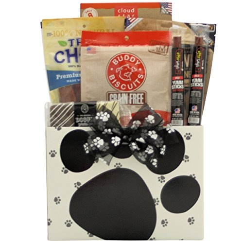 Greatarrivals Gift Baskets 1 Piece Barkolicious! Pet Dog Gift Basket, 4 Lb