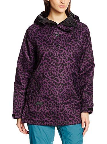 L1 Premium Goods Prowler Snow Jacket Black and Cheetah Size Large