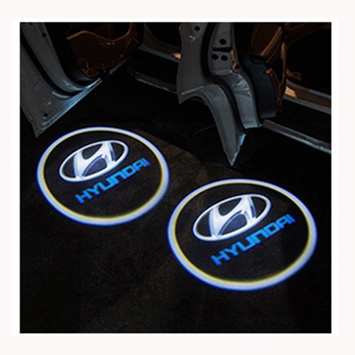 ZhengRong Car Door LED Lighting Entry Laser Ghost Shadow Projector Welcome Lamp (H-yun-dai)