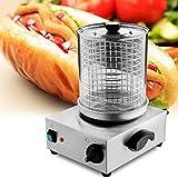 Commercial 110v Hot Dog Steamer Cooker Maker Machine Kitchen Equipment