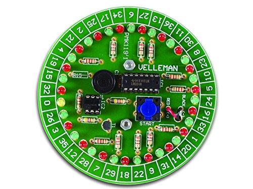 VSE 840231 MK119 Velleman Mini-Kit, elektronisches Roulette Bausatz VS Electronic Vertriebs GmbH TW1-850