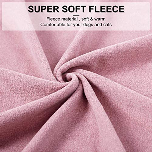 Small Dogs Fleece Dog Sweatshirt - Cold Weather Hoodies Spring Soft Vest Thickening Warm Cat Sweater Puppy Clothes Sweater Winter Sweatshirt Pet Pajamas for Small Dog Cat Puppy 20