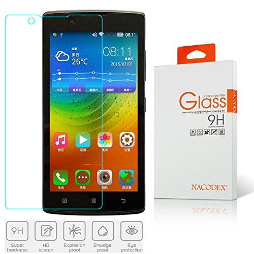 Tempered Glass For Lenovo A2010 (Clear) - 8