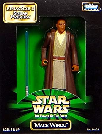 Jedi Master Mace Windu Episode I Sneak Preview Star Wars Power