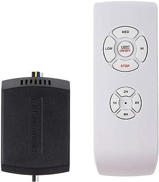 Kit de control remoto para ventilador de techo, tamaño pequeño ...