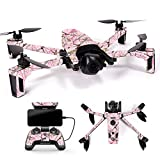 MightySkins Skin for Parrot Anafi Drone - Conceal Pink | Protective, Durable, and Unique Vinyl Decal wrap Cover | Easy to Apply, Remove, and Change Styles | Made in The USA