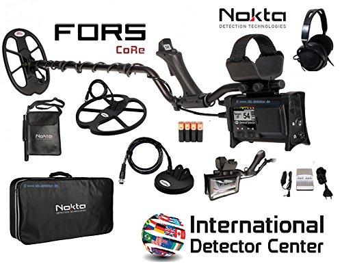 nokta Fors Core Detector de metales Paquete completo: Amazon.es: Electrónica