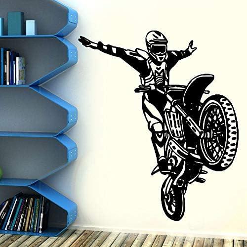 zaosan Bicicleta de la Motocicleta Etiqueta de la Pared Motocross ...