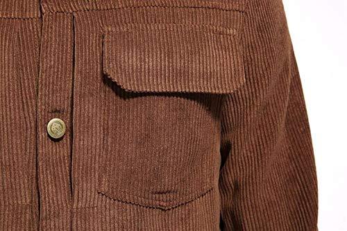 Tuta Di Primavera Modo Caffè Colore Sportiva D'epoca Autunno Da Giacche Abbigliamento Svago Di Huixin Bavero Cappotto Manica Lunga Giacca Uomo Solido Di fHwfqYa