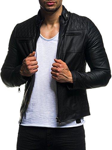 han Leather Jacket (LF-Black, L) ()