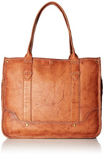 FRYE Campus Shopper Tote Handbag,Saddle,One Size