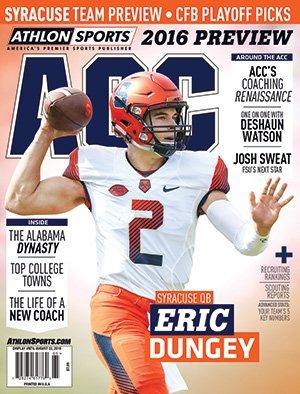 Athlon Sports 2016 College Football Atlantic Coast (ACC) Preview Magazine - Syracuse Orange
