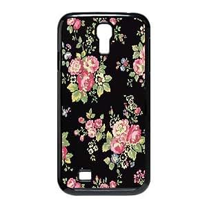 Samsung Galaxy S4 I9500 Phone Case Floral Pattern H6G5548877
