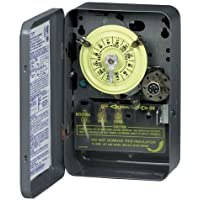 Intermatic T174 DPST 24 Hour 208-277-Volt Time Switch with Type 1 Indoor Enclosure by Intermatic
