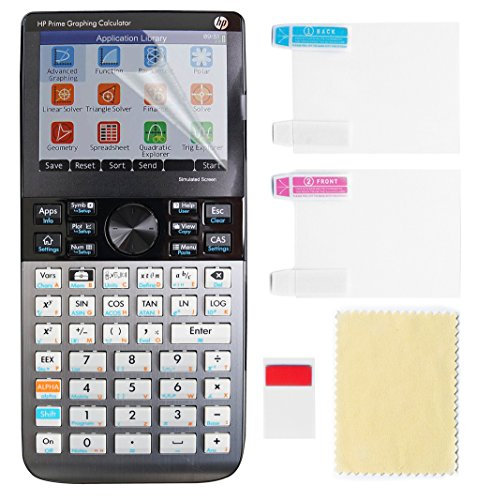 FitSand (TM) 2PCS High Definition Scratchproof Screen Protector Film for HP Prime Graphing Calculator by FitSand (Image #4)