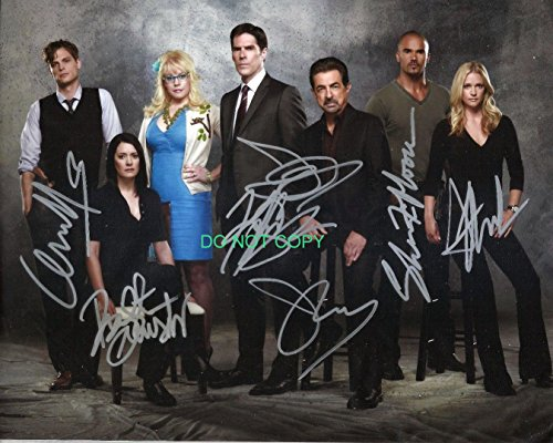 Criminal Minds tv cast signed autographed reprint photo by all 7#2 RP from Loa_Autographs
