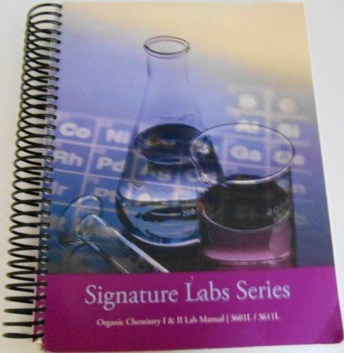 Organic Chem I & Ii Lab Book