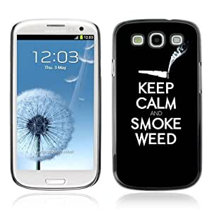 YOYOSHOP [Funny Keel Calm & Smoke Weed 420] Samsung Galaxy S3 Case