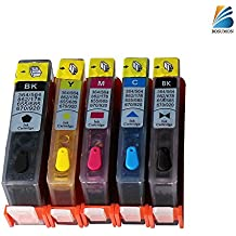 Bosumon Refillable Ink Cartridge for HP 564 Refill Kit with Auto Reset Chips (ARC) Compatible for HP Photosmart 5520 6520 7520 5510 6510 7525 B8550 C6380 D7560 C309A 4620 3520