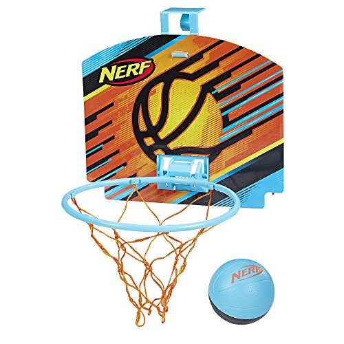 Nerf Sports Nerfoop, Blue/Black Ball (Nerf Basketball Hoops)