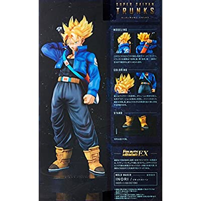 TAMASHII NATIONS Bandai FiguartsZERO EX Super Saiyan Trunks Dragon Ball Statue: Toys & Games