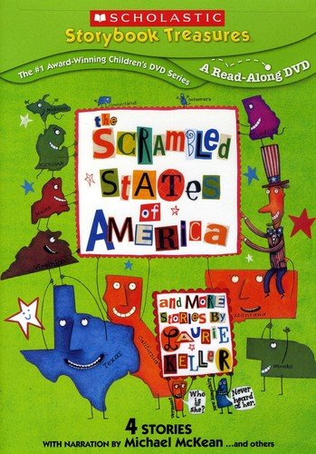 DVD : Scrambled States Of America...and More Stories By Laurie Keller (Reissue)
