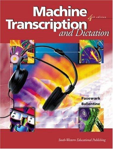 dictation transcription machine