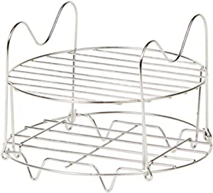 Emeril Pressure AirFryer Replacement Rack Air Fryer Accessories & Parts Dehydrator Stand Stainless Steel Dishwasher Safe (6 Quart)