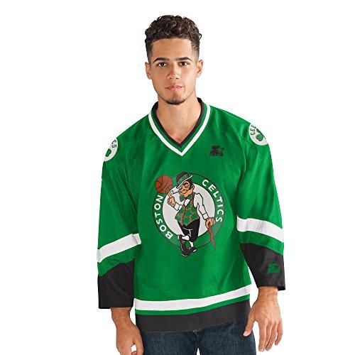 STARTER NBA Boston Celtics Legend Hockey Jersey, Medium, Green