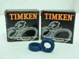 Timken 12X22X7 Lot-2,Oil Seals 12mm ID x 22mm OD x 7mm Wide