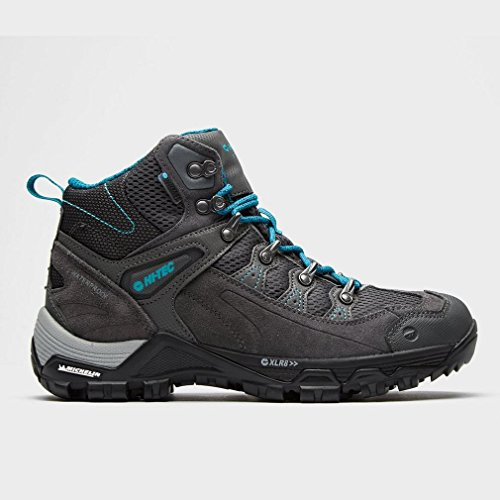 Hi-Tec Scarpa da Calzatura per Esterni in Pelle Gray I Walking Boot One Color, Grigio, 37