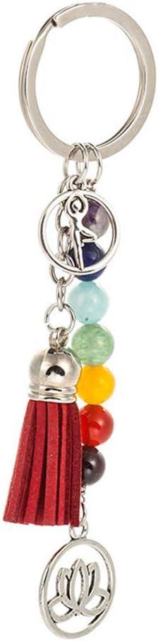Amazon.com: Collar de 7 piedras chakras, 7 brazaletes de ...