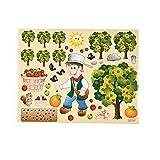 Johnny Appleseed Sticker Scenes
