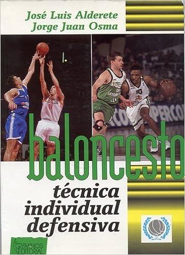 Baloncesto - tecnica individual defensiva -: Amazon.es: Jose ...