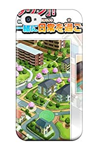 Sanp On Case Cover Protector For Iphone 4/4s (descargar Youkai Watch) 4748147K91329802