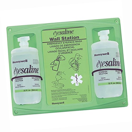 (Eyesaline\xAE Single Eyewash Station, 16 oz -)