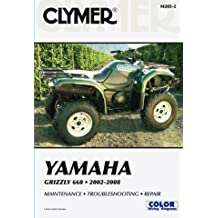 2002-2008 YAMAHA YFM660 GRIZZLY SERVICE MANUAL - YAMAHA GRIZZLY, Manufacturer: CLYMER, Manufacturer Part Number: M285-2-AD, Stock Photo - Actual parts may vary. by Clymer