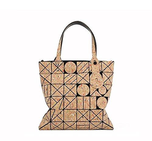 Della Baobao Casuale Tracolla Totes Geometria A Donne Pieghevole Sul Design Sacchetto Per Stampate Borsa Signora TP8fqwT
