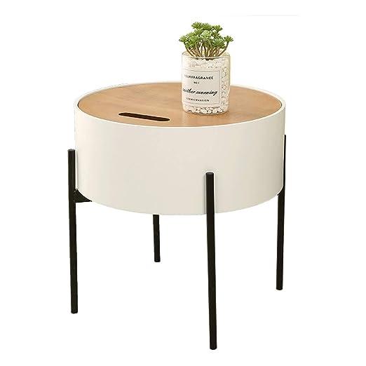 DYW Mesa de café Moderna Simple nórdica de la Sala Mesa Lateral ...