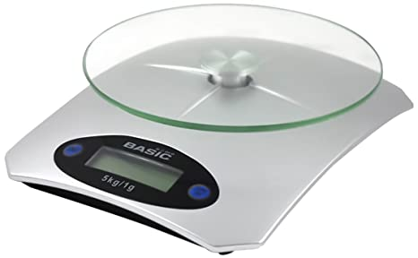 Basic Home BE01012664752 Bascula Cocina Digital, 5 kg