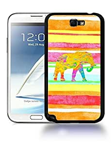 Aztec Tribal Space Elephant Hipster Pattern Phone Case Cover Designs for Samsung Galaxy Note 2 WANGJING JINDA