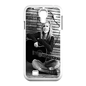 Canadian pop singer Avril Lavigne Hard Plastic phone Case Cover+Gift keys stand For SamSung Galaxy S4 Case ZDI070226