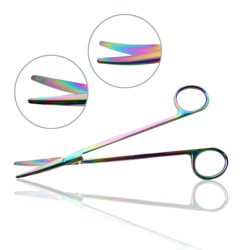 Mopec Scissors, Titanium, Metzenbaum, Straight, 7'' by Mopec