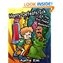 Harry Defeats Ick & The Evil Plaque Monsters - A Great Book for the 4-8 year old to easily inspire them to brush their teeth.
