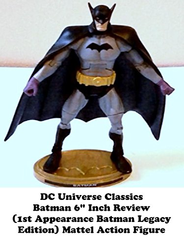 Rent A Batman Costume (Review: DC Universe Classics Batman 6