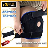 The TRUE BIGGEST Size Knee Brace Support on Amazon for Plus Size By Motion Infiniti - for ACL, Meniscus Tear and Arthritis. 5XL 6XL Extreme Length Extreme Width Extreme Support Special Design offers