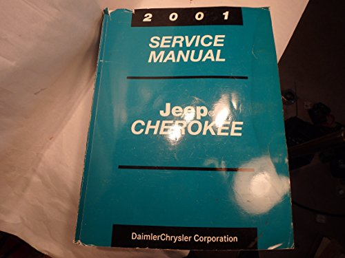 Jeep Cherokee 2001 Service Manual: Part Number - Dealer Jeep